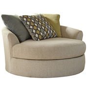 Signature Design by Ashley® Casheral Oversized Swivel Accent Chair
