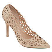 Style Charles Tilly Laser-Cut Pumps