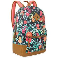 A.D. Sutton Cotton Print Backpack