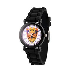 Guardian Of The Galaxy Marvel Boys Black Strap Watch-Wma000145