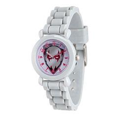 Guardian Of The Galaxy Marvel Boys Gray Strap Watch-Wma000147