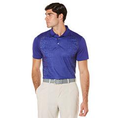PGA TOUR Short Sleeve Camouflage Mesh Polo Shirt