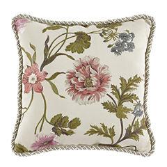 Croscill Classics Daphne Square Throw Pillow
