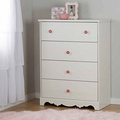 South Shore Lily Rose 4-Drawer Chest