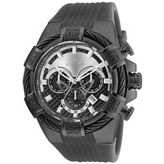 Invicta Bolt Mens Gray Strap Watch-24701