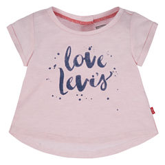 Levi's Short Sleeve T-Shirt-Baby Girls