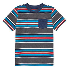 Arizona Stripe Tee Short Sleeve T-Shirt-Preschool Boys