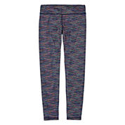 Xersion Performance Spacedye Running Tights - Girls 7-16 and Plus