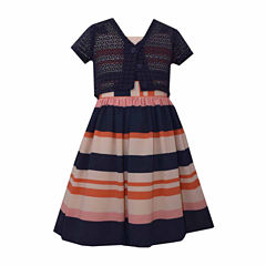 Bonnie Jean 2-pc. Cardigan Dress Big Kid Girls