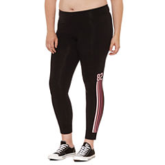 Flirtitude Stripe Jersey Leggings-Juniors