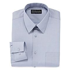 D'Amante Chambray Dress Shirt - Big & Tall