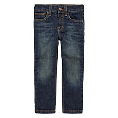 Arizona Boys Straight-Leg Denim - Toddler 2T-5T