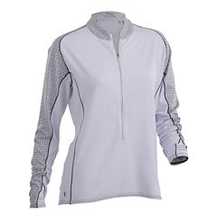 Nancy Lopez Golf Melody Quarter-Zip Pullover