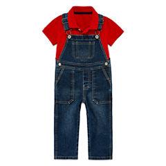 Arizona Polo or Denim Overalls - Baby Boys 3m-24m
