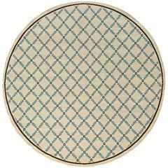 Covington Home Leaf Lattice Indoor/Outdoor Round Rug