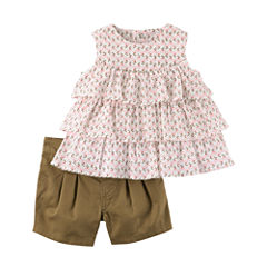 Carter's 2-pc. Short Set Baby Girls
