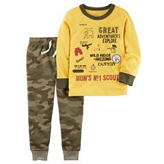Carter's 2-pc. Camouflage Pant Set Boys