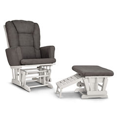Graco® Sterling Semi-Upholstered Glider