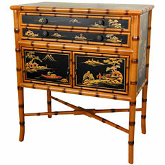 Oriental Furniture Ching Accent Cabinet
