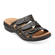 Clarks® Leisa Cacti Womens Open-Toe Leather Sandals