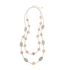 Bold Elements June Bold Elements Newness 32 Inch Chain Necklace