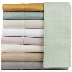 Perthshire Platinum 440tc Cotton Window Pane Sheet Set