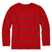 Arizona Long-Sleeve Stripe Tee - Preschool Boys 4-7