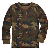 Arizona Long-Sleeve Graphic Thermal Top - Preschool Boys 4-7