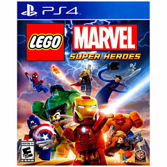 Lego Marvel Super Heroes Ninjago Video Game-Playstation 4
