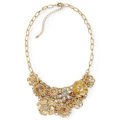 Mixit™ Gold-Tone Crystal Multi-Charm Necklace