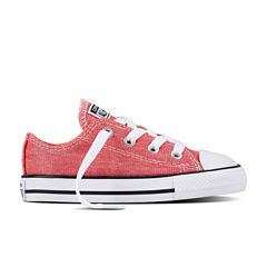 Converse Chuck Taylor All Star Ox Girls Sneakers - Toddler
