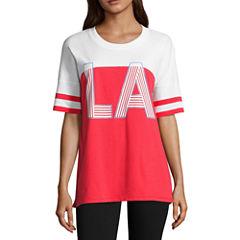 Flirtitude LA Graphic T-Shirt- Juniors