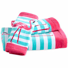 Destinations Pink Flamingo Washcloth