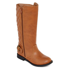 Arizona Harley Cognac Girls' Riding Boots - Little Kids