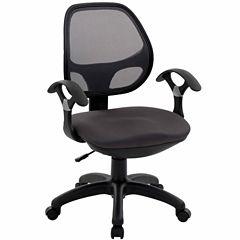 RTA Products LLC Techni Mobili Midback Mesh Task Office Chair