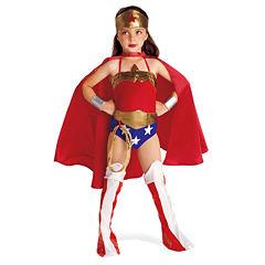 Buyseasons Wonder Woman 6-pc. Dress Up Costume Girls