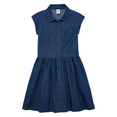 Arizona Dark Chambray Shirt Dress - Girls' 7-16 & Plus