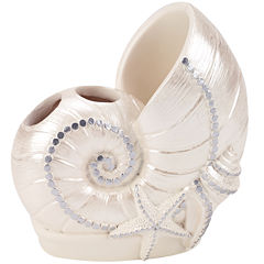 Avanti Sequin Shell Toothbrush Holder