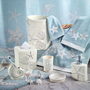 Avanti Sequin Shell Bath Collection