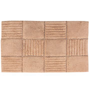 Castle Hill London Chakkar Board Bath Rug Collection