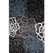 Alpine Mod Floral Rectangular Rug