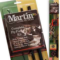 Teledynamics Martin Complete Combo With Fly Assortment