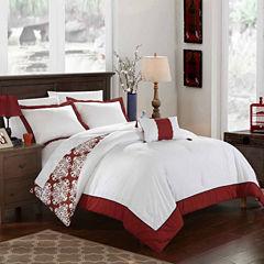 Chic Home Trina 8-pc. Duvet Cover Set