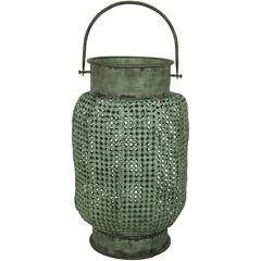 Oriental Furniture Perforated Decorative Hanging Decorative Lantern