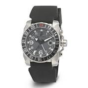 Wrist Armor® WA137 Mens US Marine Corps Stainless Steel Watch