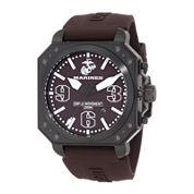Wrist Armor® C4 Mens US Marine Corps Stainless Steel Swiss Quartz Watch