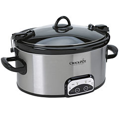 Crock-Pot® 6-qt. Cook & Carry™ Programmable Slow Cooker