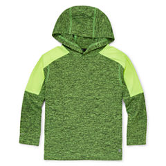Xersion™ Long-Sleeve Melange Hooded Top - Preschool Boys 4-7