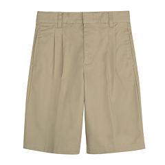 French Toast® Pleated Shorts – Boys 8-20 and 10-20 Husky
