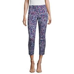 Liz Claiborne Cropped Pants-Petites